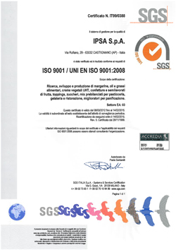 certificato iso it